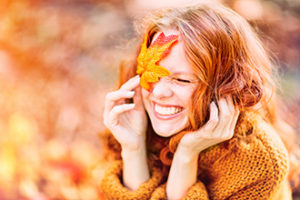 laughing autumn